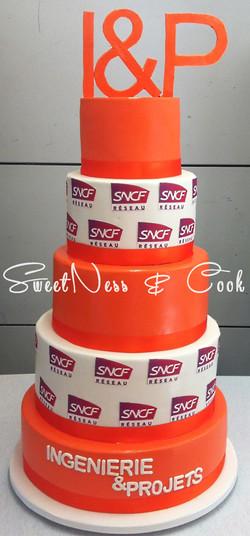 Wedding Cake SNCF