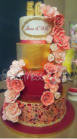 Wedding Cake Mosaïque