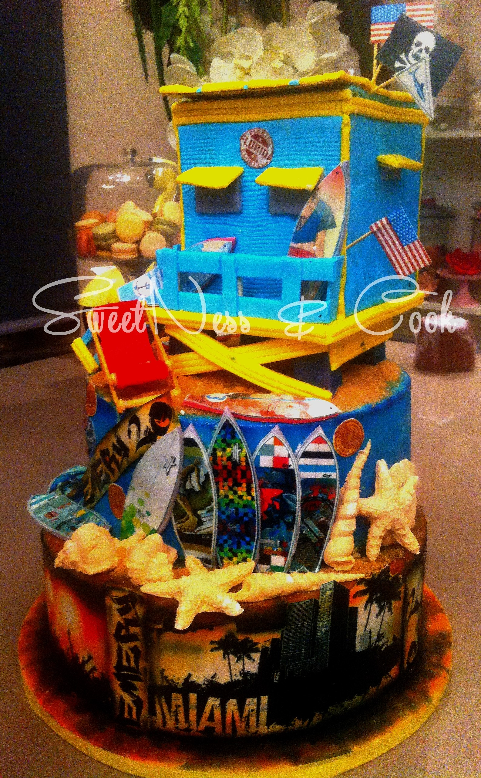 Cake Design Miami Beach