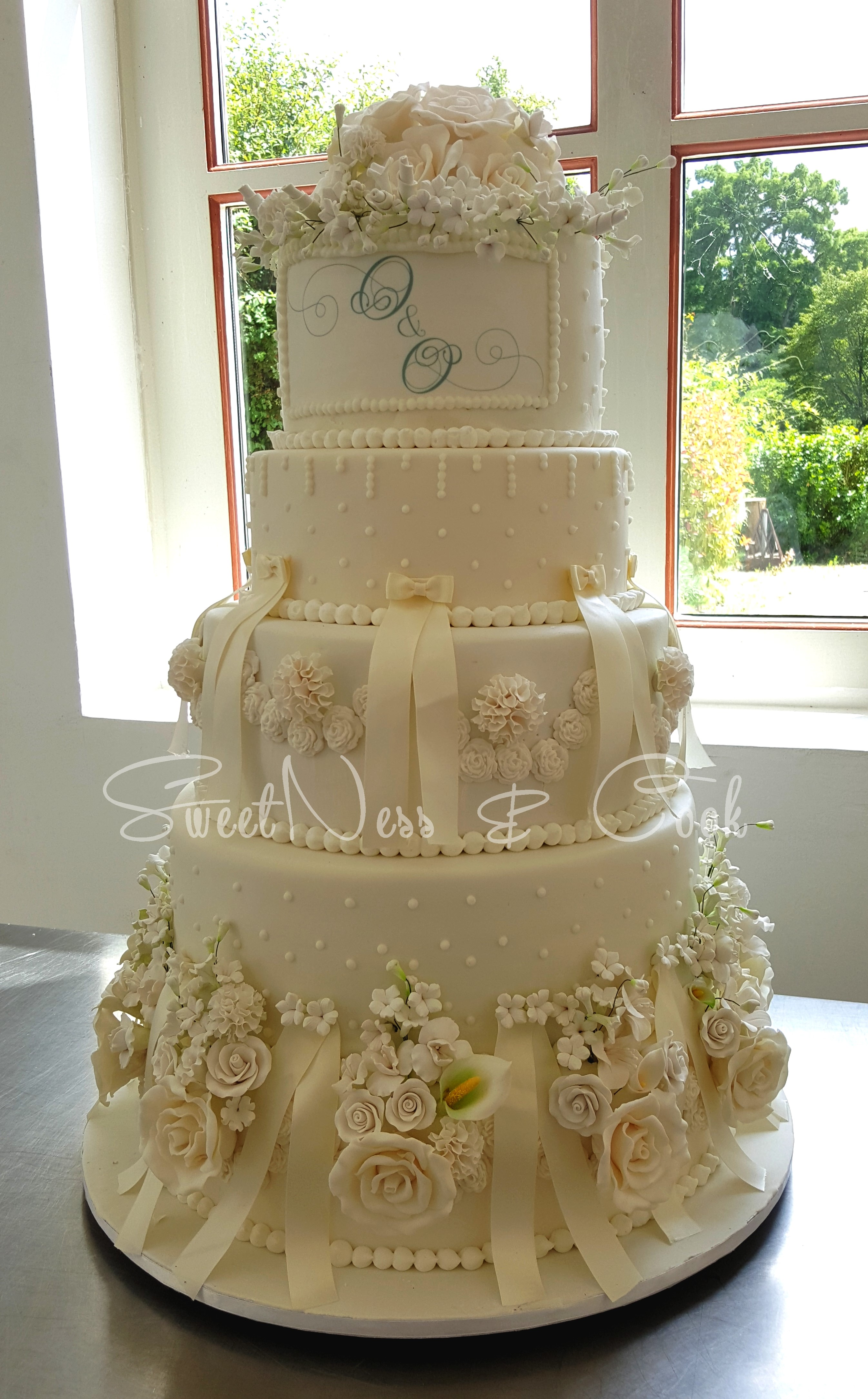 Wedding Cake Pavillon Royal