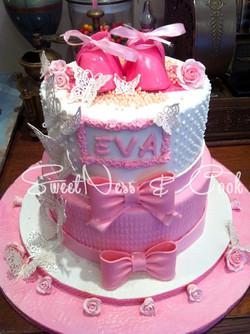 Cake Design Eva Baptême