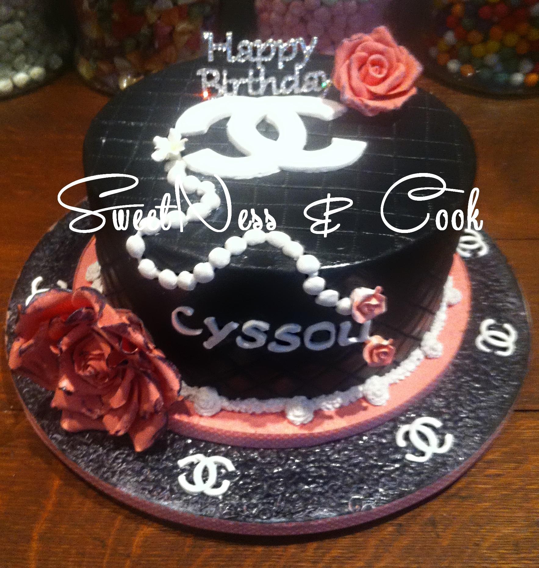 Cake Design Chanel