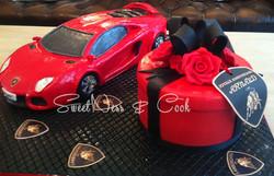 Cake Design Lamborghini