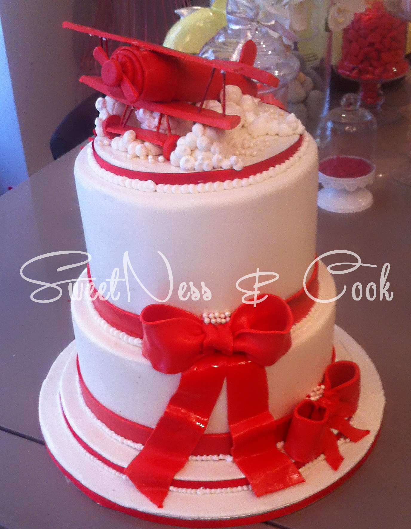 Wedding Cake Avion Biplan