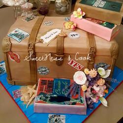 Cake Design Coffre de voyage