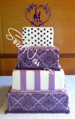 Wedding Cake Carré Texture