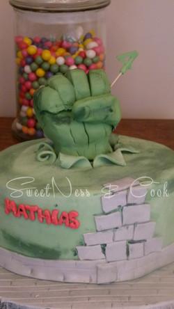 Cake Design Hulk