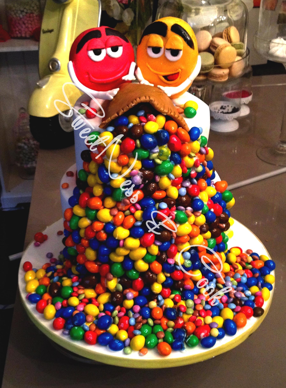 Cake Design M&M's