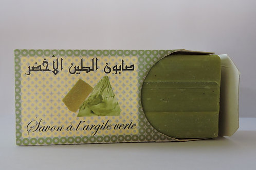 Savon à l'Argile Verte BIO - 100g Al Waha