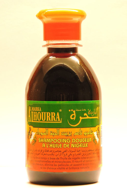 Shampooings à l'Huile de Nigelle -250ml  Al Hourra