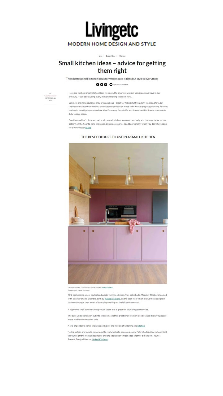 Living - Small Kitchens