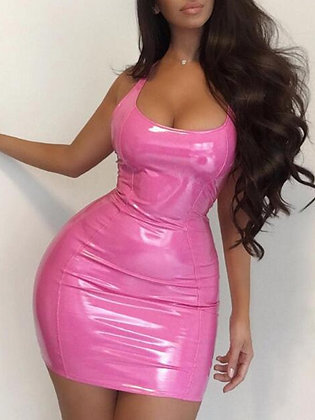 Pink liquid
