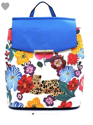 Blue convertible bag