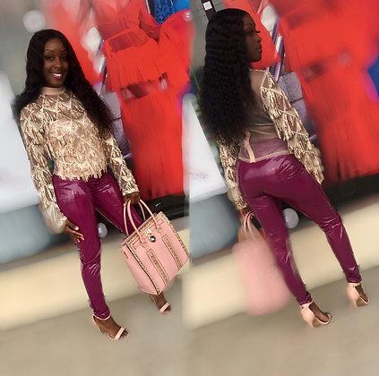 Purple Liquid pants