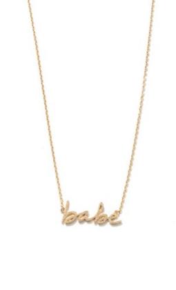 Gold babe