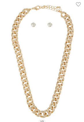 Gold accent chain