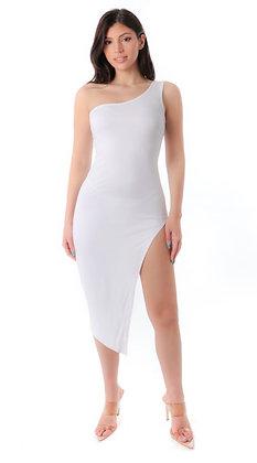 White split dress