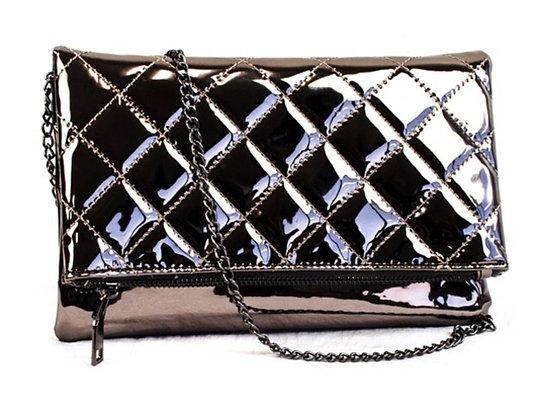 Pewter handbag