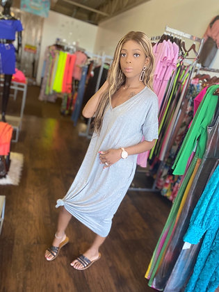 Gray chill dress