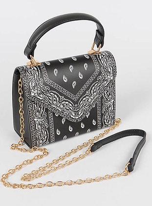 Bandana black purse