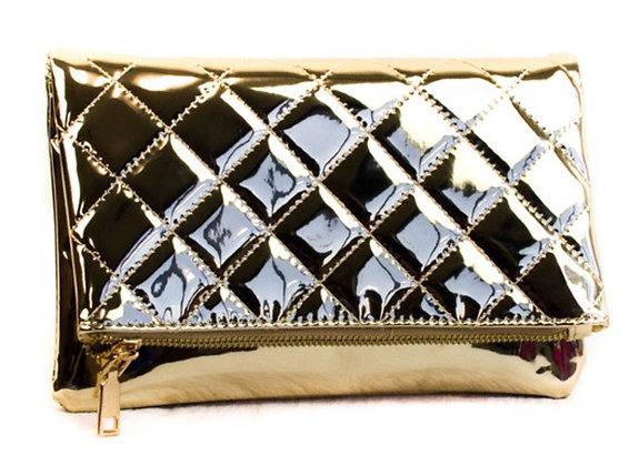 Rose gold handbag