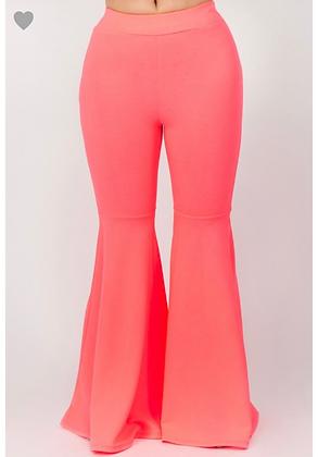 Neon pink flarez