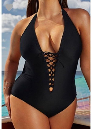 Back cross swimsuit