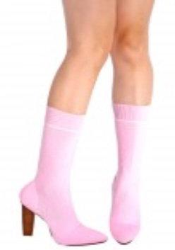 Pink bootie