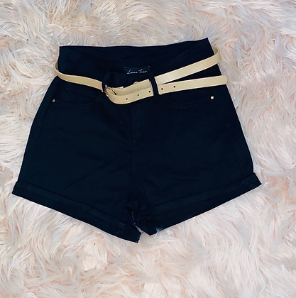 Black Casual shorts