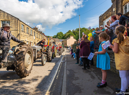 Calderdale Charity Tractor Run