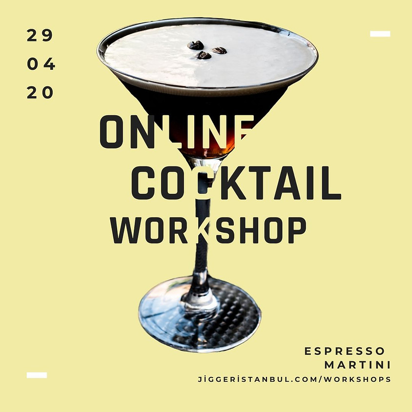 #4 Online Cocktail Workshop: Espresso Martini