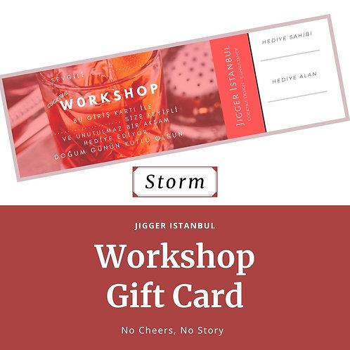 Workshop Hediye Kartı - Storm
