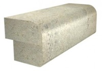 Laminated Half Bullnose over Eased