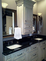 Bathroom Vanity custom cabinets