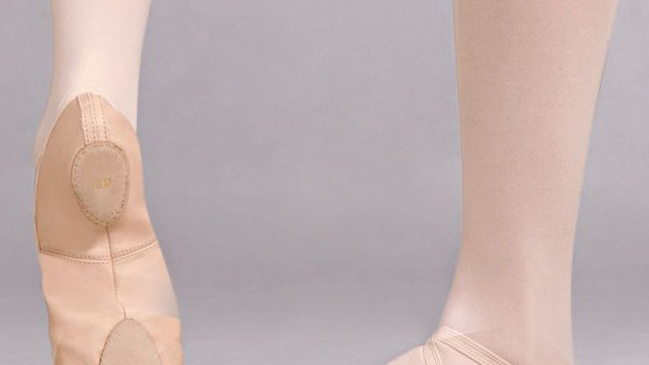 Capezio Leather Cobra Split Sole Ballet Shoes