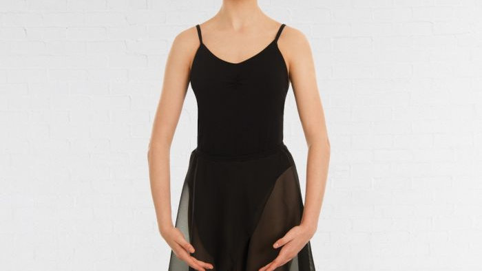 Black Wrap Around Ballet Skirt