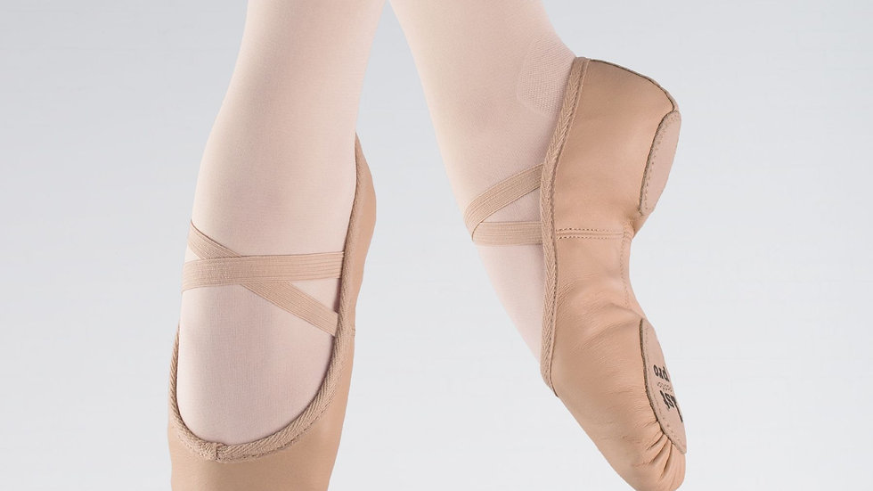 First Position Split Sole Ballet Shoes