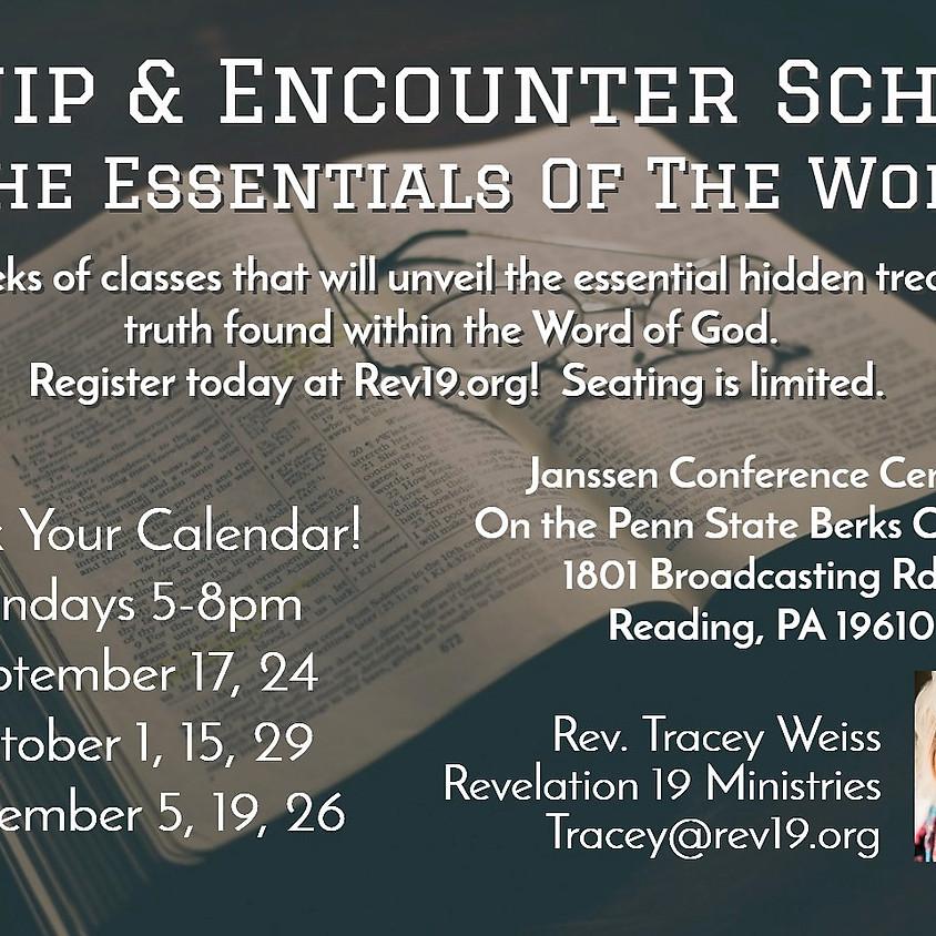 Equip & Encounter School:  Essentials Of The Word (1)