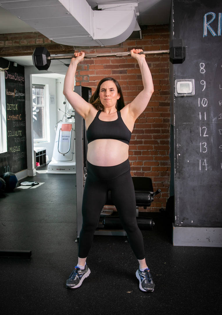Mighty Mom Prenatal Workout