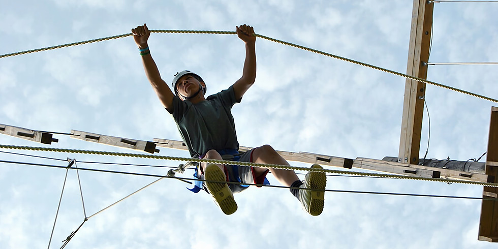 Camp Pioneer Ropes Course