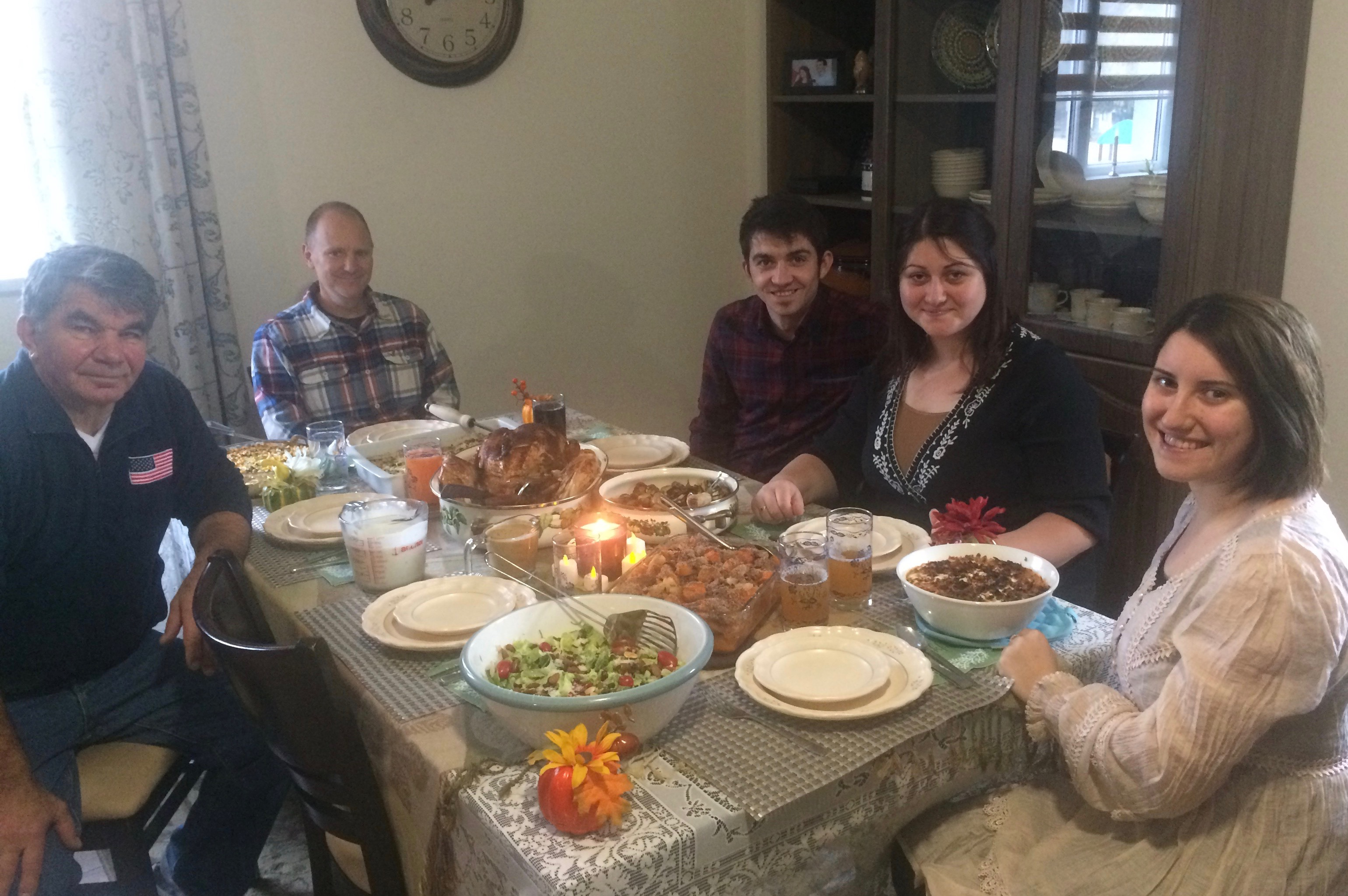 BCC team Thanksgiving
