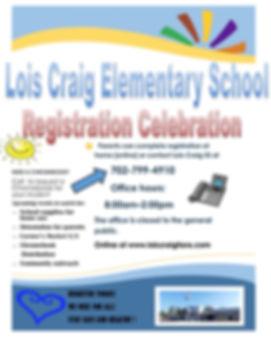 Registration Celebration