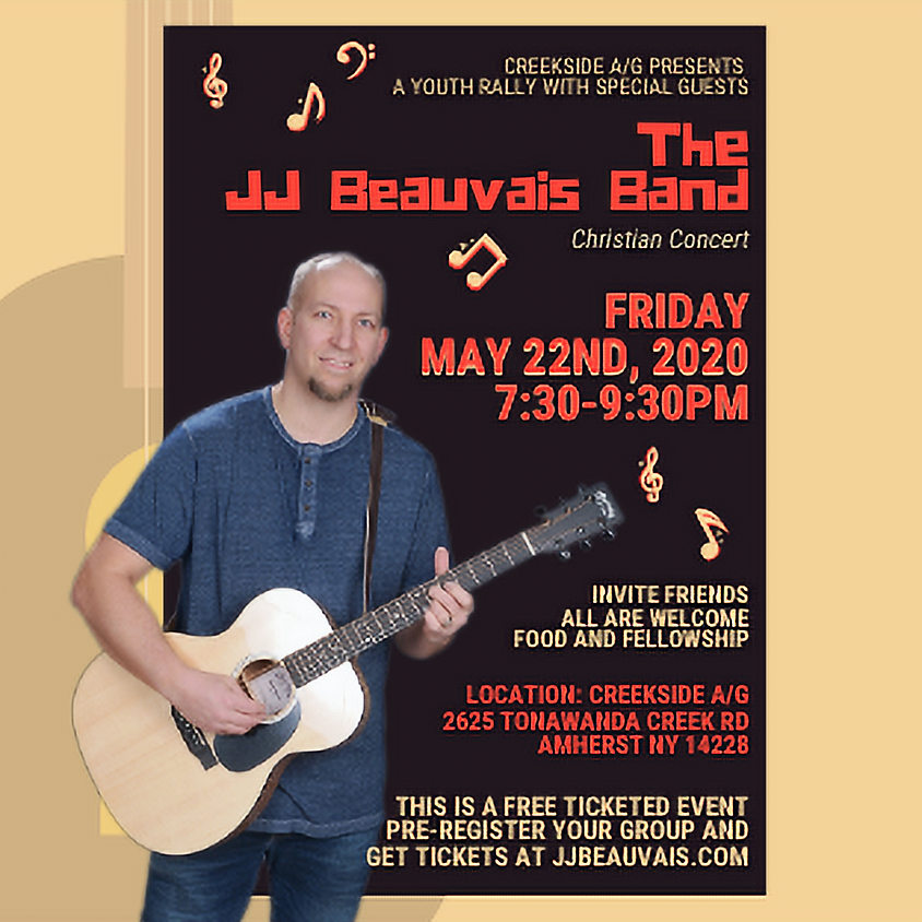 Youth Rally with special guests The JJ Beauvais Band