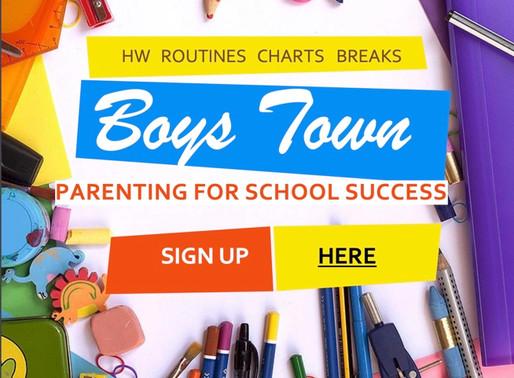 Parenting for School Success