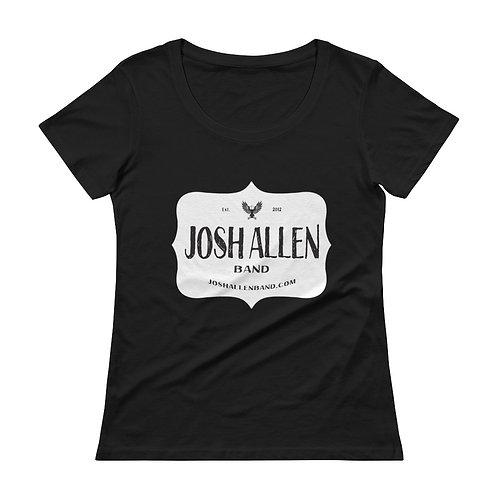 Josh Allen Band Ladies' Scoopneck T-Shirt