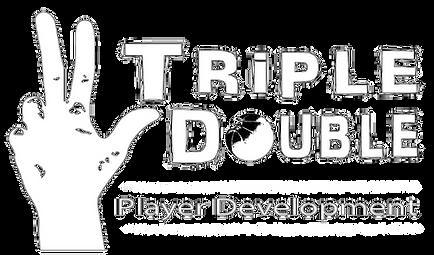 Triple Double Player Development Logo
