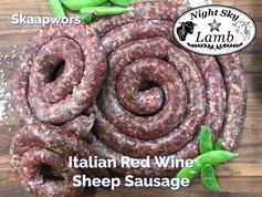Italian Red Wine Sheep Sausage