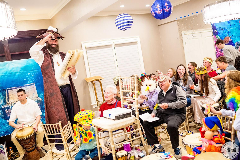 Purim High Seas - Students