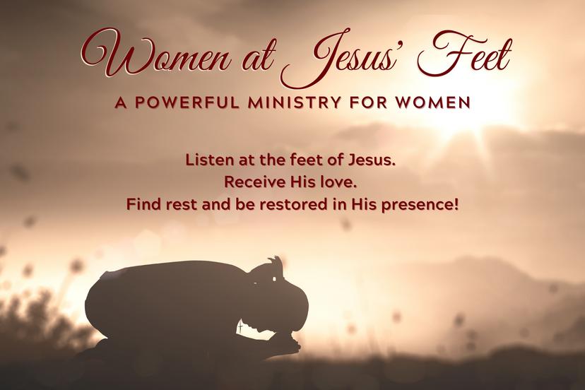 Women at Jesus Feet