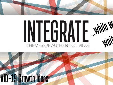 Integrate through Wholeness!